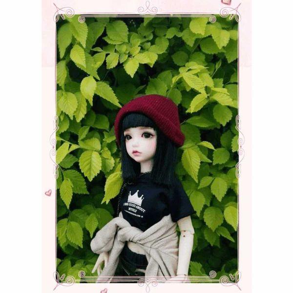 球体関節人形 本体+眼球+メイクアップ済 創作 オリジナル BJD カスタムドール 女の子 かわいい 1/6 ノーマル A063_画像5