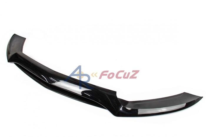 艶有黑 ベンツ Cクラス W205 S205 C205 A205 AMG フロント バンパー リップスポイラー ABS_画像3