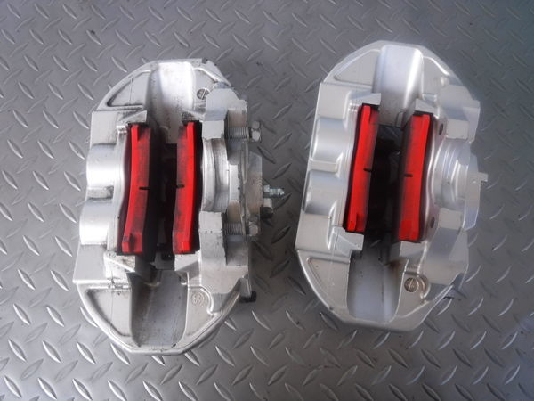 STI ブレンボ モノブロック GRB GVB インプレッサ R205 リア 4POT キャリパー ローター セット 330mm GDB BP5 BL5 レガシィ GDA 86 BRZ_画像7