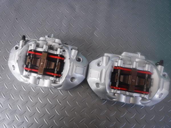 STI ブレンボ モノブロック GRB GVB インプレッサ R205 リア 4POT キャリパー ローター セット 330mm GDB BP5 BL5 レガシィ GDA 86 BRZ_画像6