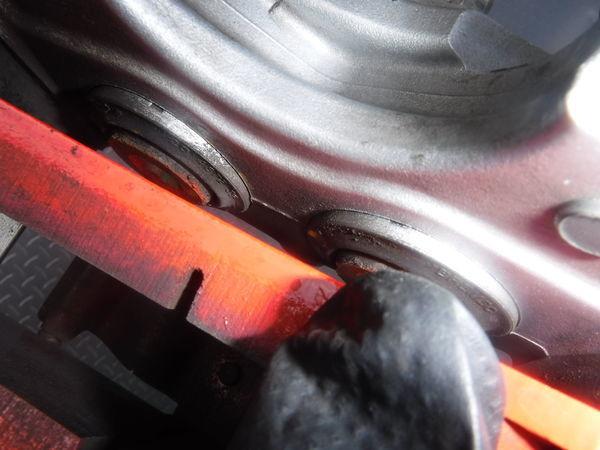 STI ブレンボ モノブロック GRB GVB インプレッサ R205 リア 4POT キャリパー ローター セット 330mm GDB BP5 BL5 レガシィ GDA 86 BRZ_画像8