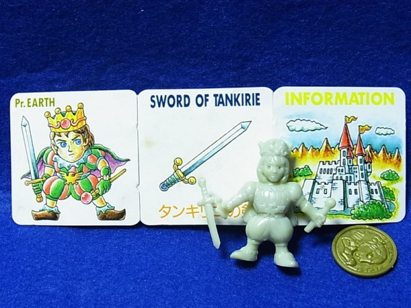 ◆ネクロスの要塞/フィギュア/8弾/アース王子/カード未切り チップなど_画像1