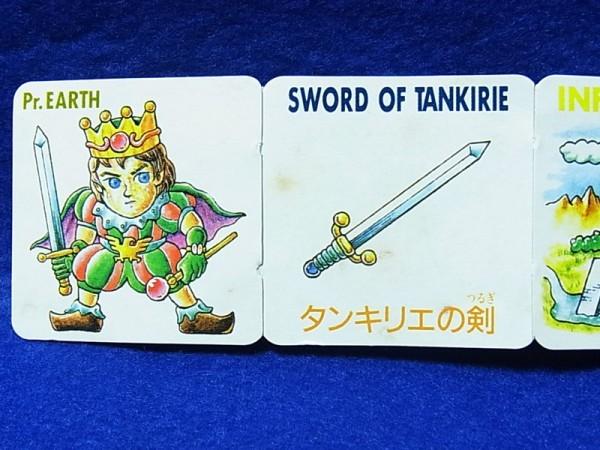◆ネクロスの要塞/フィギュア/8弾/アース王子/カード未切り チップなど_汚れなど