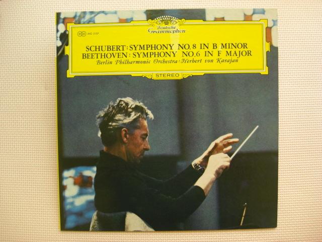 *【LP】ヘルベルト・フォン・カラヤン指揮/シューベルト 交響曲 未完成、ベートーヴェン 交響曲 田園(MG2157)(日本盤)_画像1