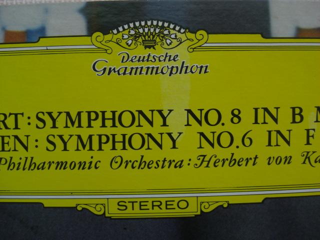 *【LP】ヘルベルト・フォン・カラヤン指揮/シューベルト 交響曲 未完成、ベートーヴェン 交響曲 田園(MG2157)(日本盤)_画像2