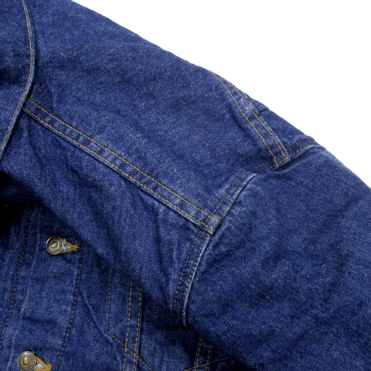 ☆送料無料☆ デッドストック 90s ビンテージ LEVIS リーバイス 70506 USA製 デニム ジャケット Gジャン ジージャン ブランケット 古着_画像8