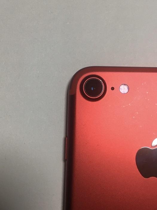 iPhone7 128GB PRODUCTRED プロダクトレッド au docomo SoftBank SIMフリー SIMロック解除済 バッテリー91% 残債無し 送料210円_画像7