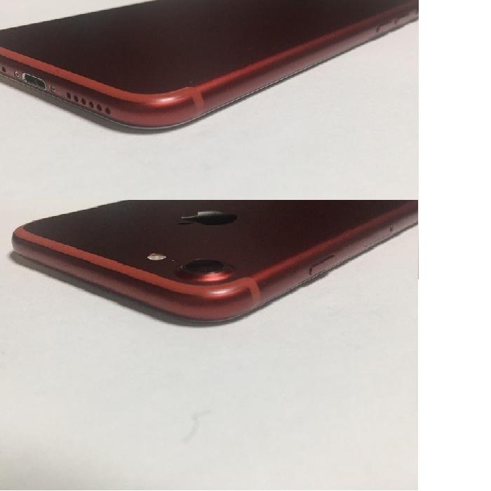 iPhone7 128GB PRODUCTRED プロダクトレッド au docomo SoftBank SIMフリー SIMロック解除済 バッテリー91% 残債無し 送料210円_画像4