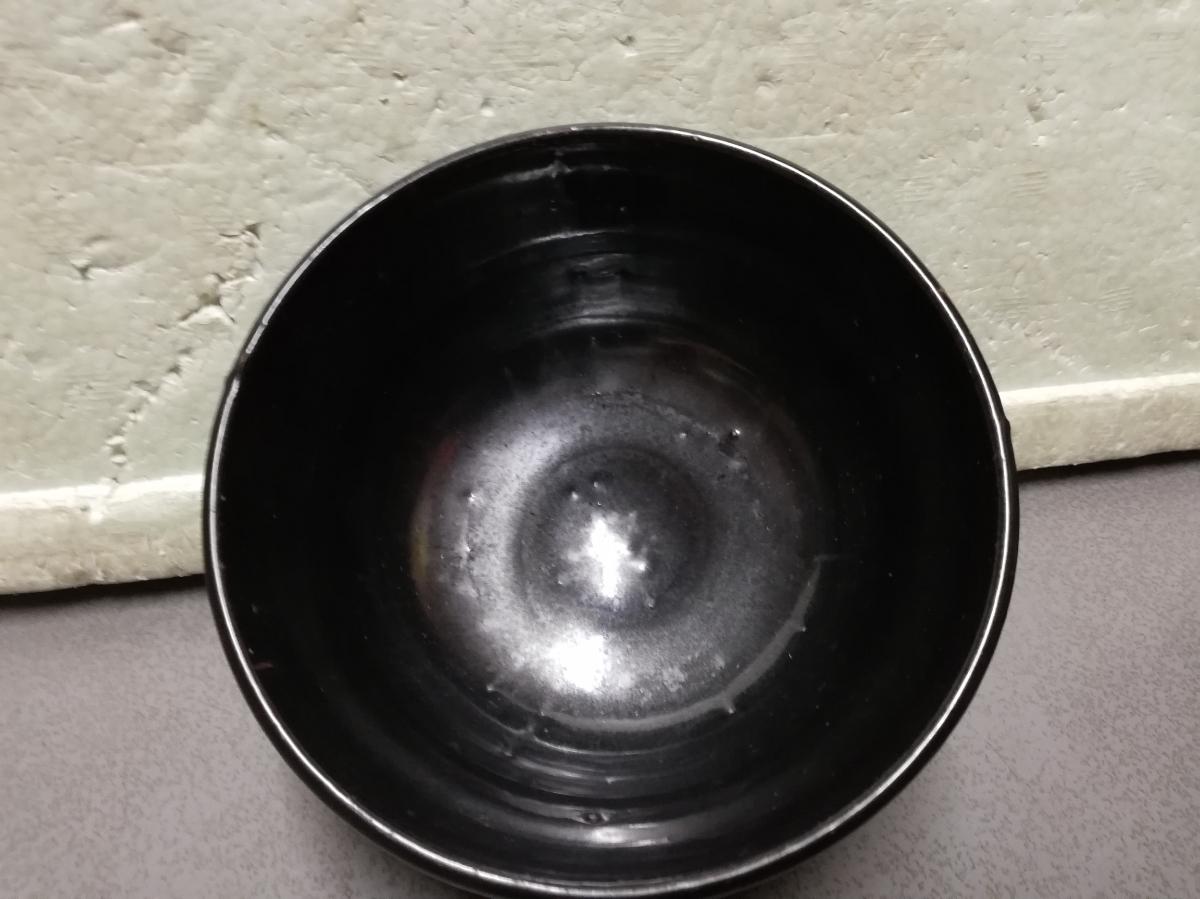 買い取り品 天目茶碗 中国物 お茶道具 抹茶茶碗 茶碗  同梱包可能_画像4