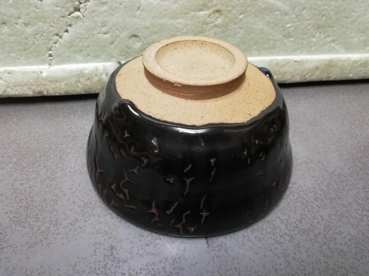 買い取り品 天目茶碗 中国物 お茶道具 抹茶茶碗 茶碗  同梱包可能_画像7
