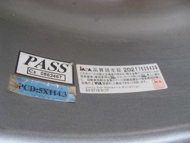 【中古・美品】☆d・P・アロイホィールPCD114.3+YOKOHAMA ice GUARD iG30 195/65R15 91Q 4本セット _☆品質認定証