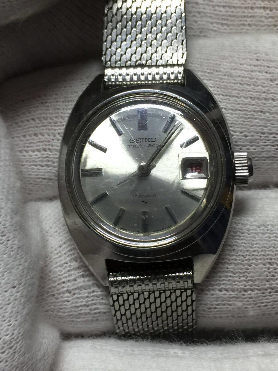 【ジャンク】時計品 オリエントリング・セイコー・スペリナ アンティーク手巻きレディース5点セットです。_画像7
