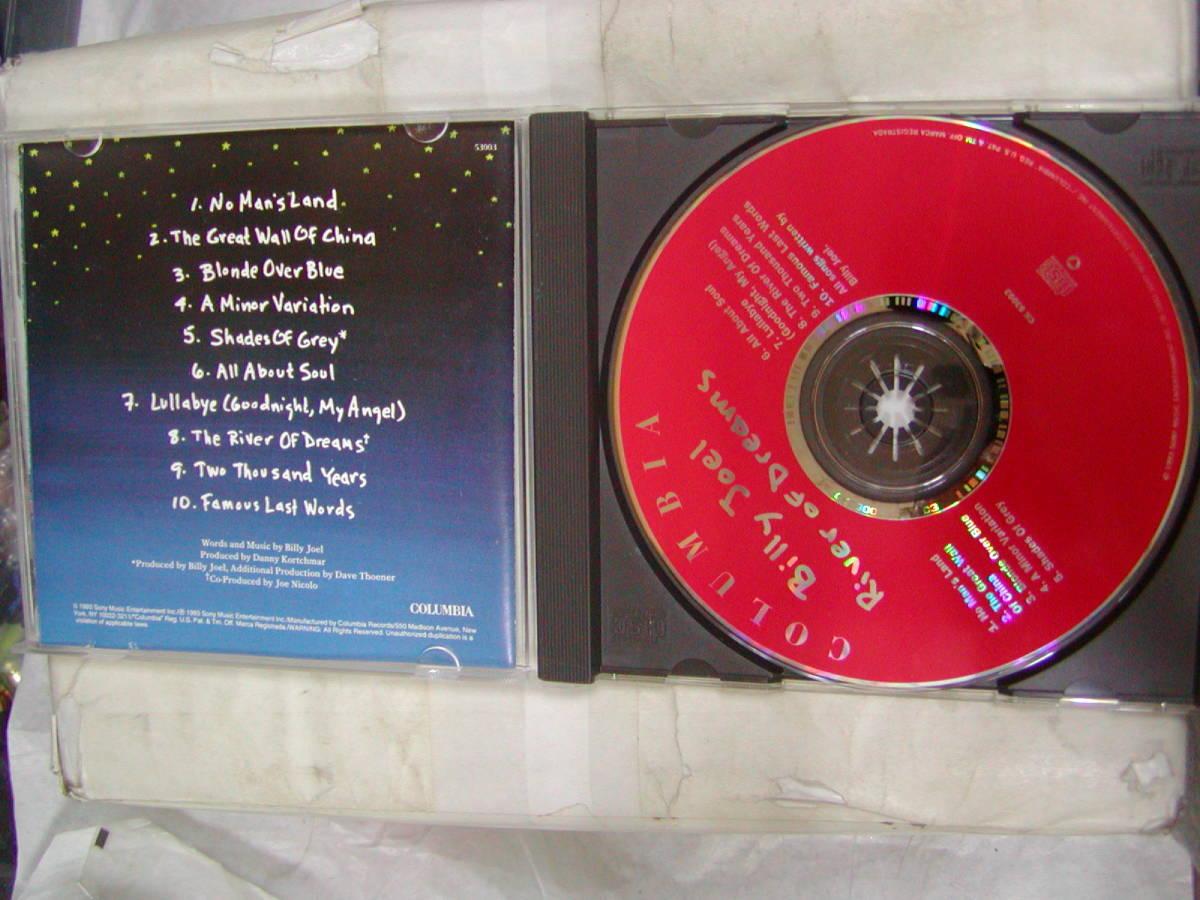 CDアルバム 輸入盤[ ビリー・ジョエル BILLY JOEL ]River of Dreams 10曲 送料込_画像3