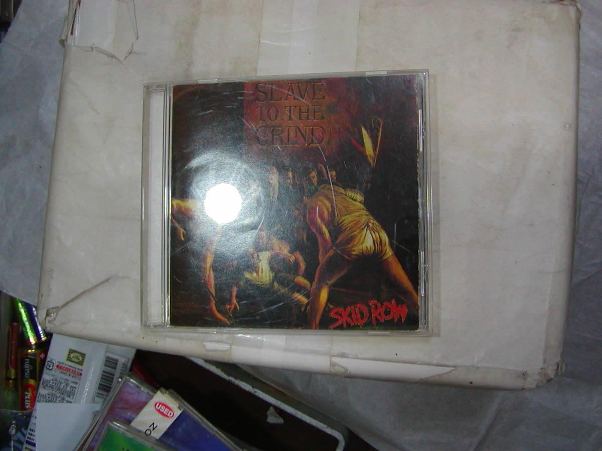 CDアルバム[ スキッド・ロウ SKID ROW ] SLAVE TO THE GRIND 13曲 送料込_画像1
