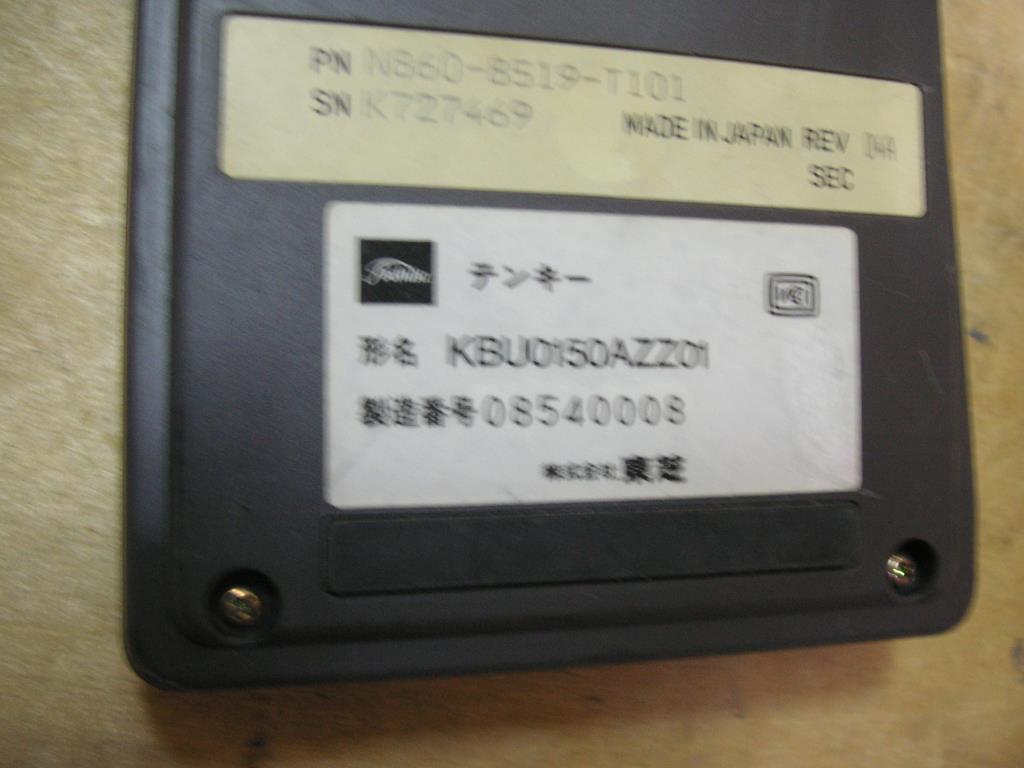 外付け 10キー キーボード 型名 KBU0150AZZ01 ジャンク_画像3