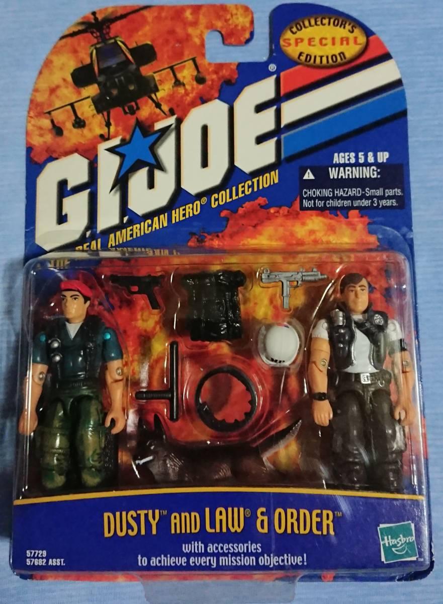 ダスティ & ロー + オーダー G.I. JOE Special Collectors Edition 2-Pack Dusty and Law & Order A Real American Hero Collection