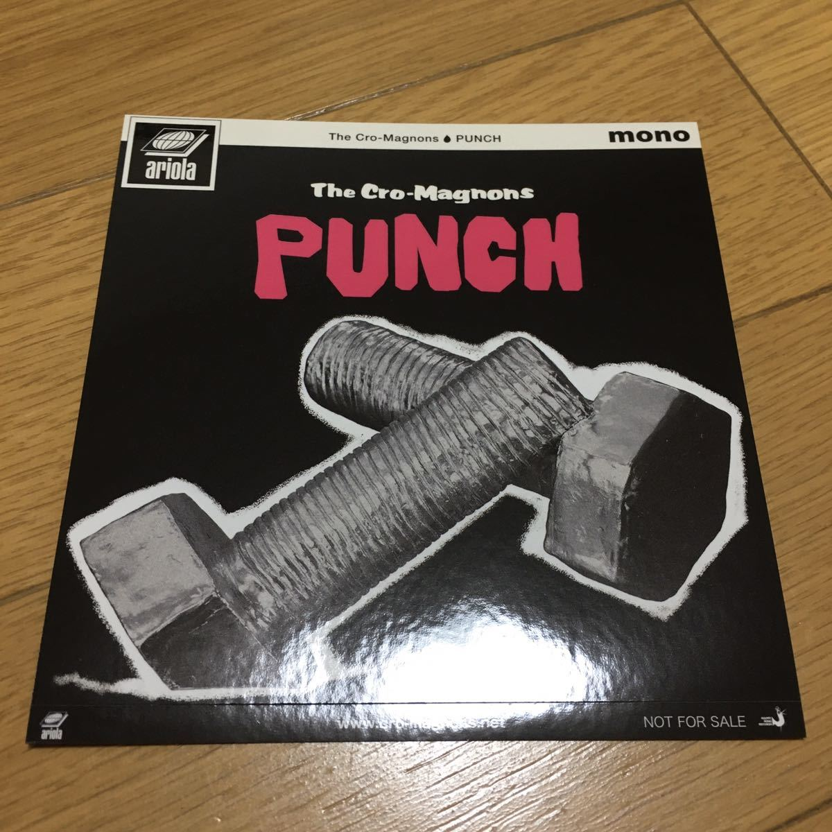 限定 ステッカー付 ザ・クロマニヨンズ PUNCH 完全生産限定盤 180グラム重量盤レコード レコード ステッカー 新品 未開封品