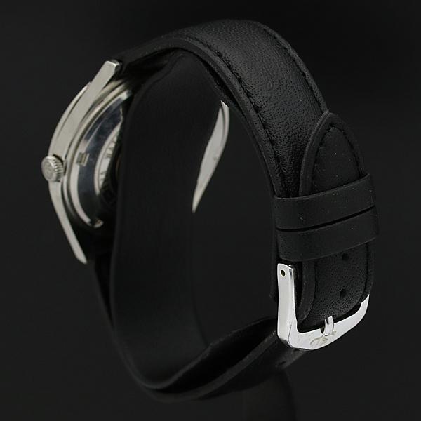 稼働品 Grand Seiko グランドセイコー GS 5646-7010 ハイビート デイデイト 自動巻き AT メダリオン付 黒 メンズ 腕時計