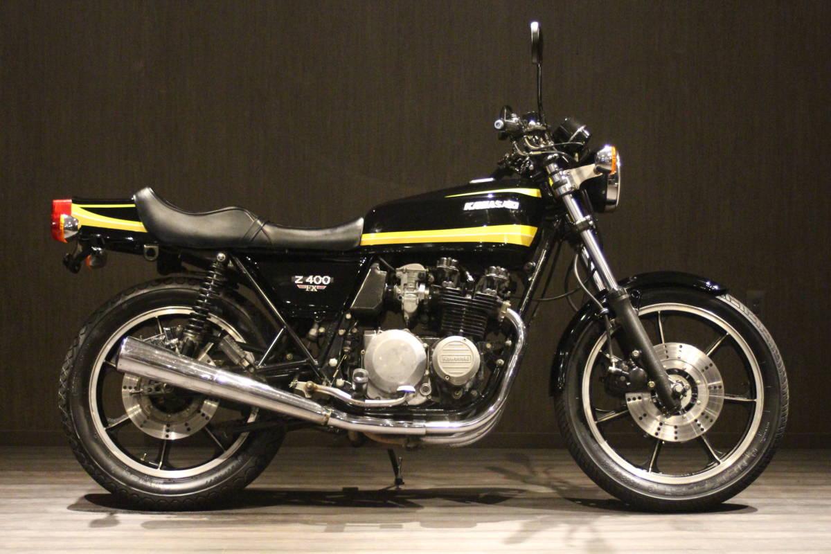 1979年 Z500 イエロータイガー 検無し KZ500 FX_画像1