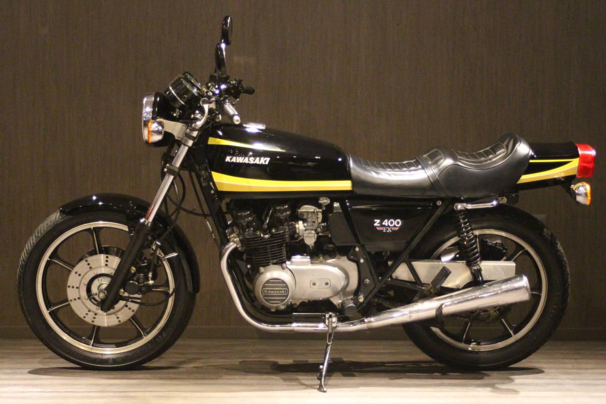 1979年 Z500 イエロータイガー 検無し KZ500 FX_画像2