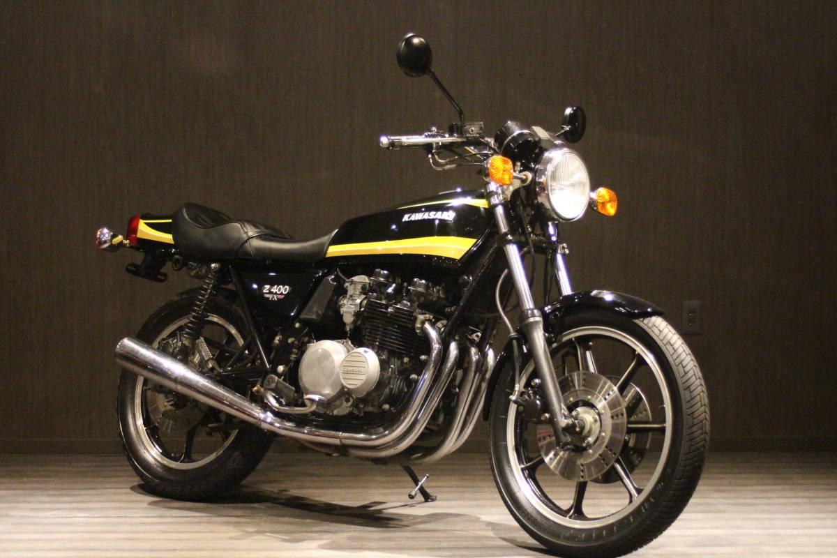 1979年 Z500 イエロータイガー 検無し KZ500 FX_画像3