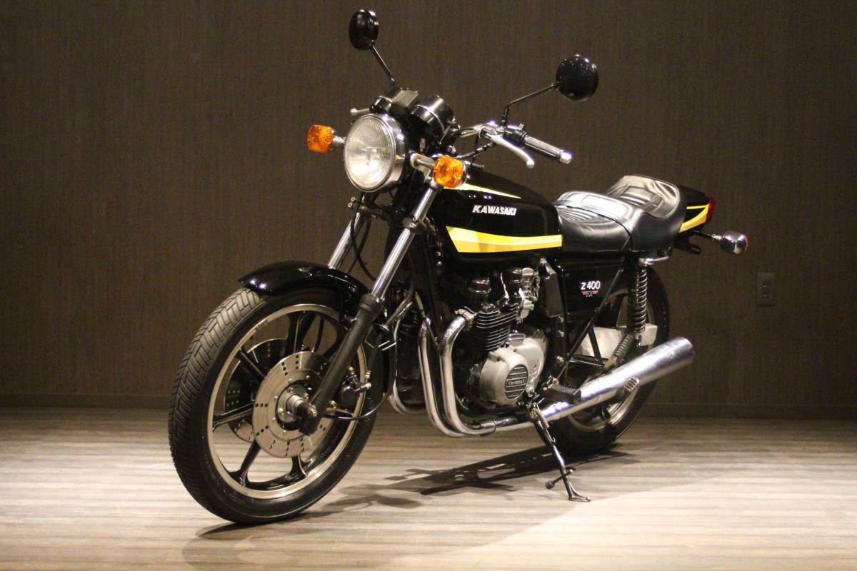 1979年 Z500 イエロータイガー 検無し KZ500 FX_画像4