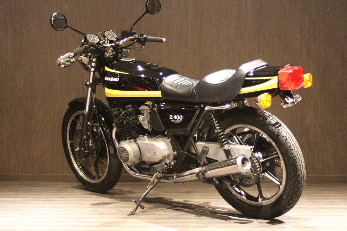1979年 Z500 イエロータイガー 検無し KZ500 FX_画像5