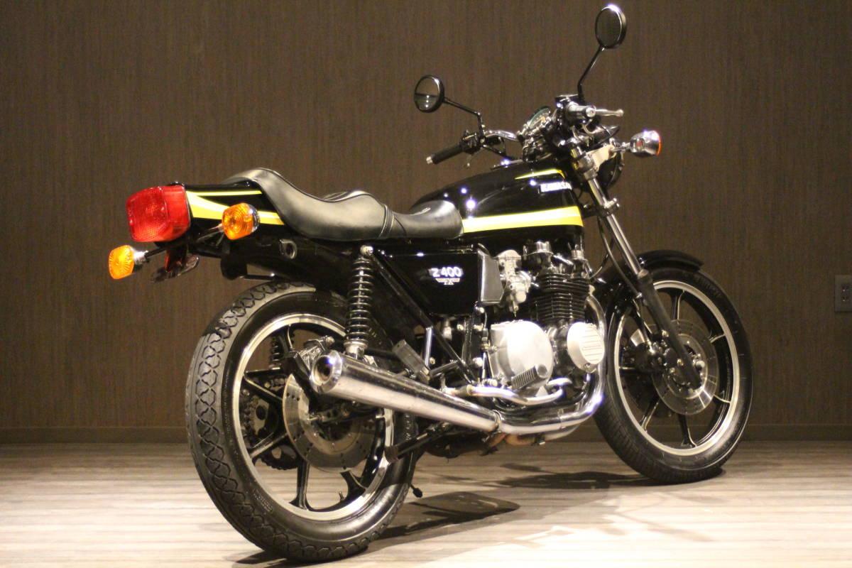 1979年 Z500 イエロータイガー 検無し KZ500 FX_画像6