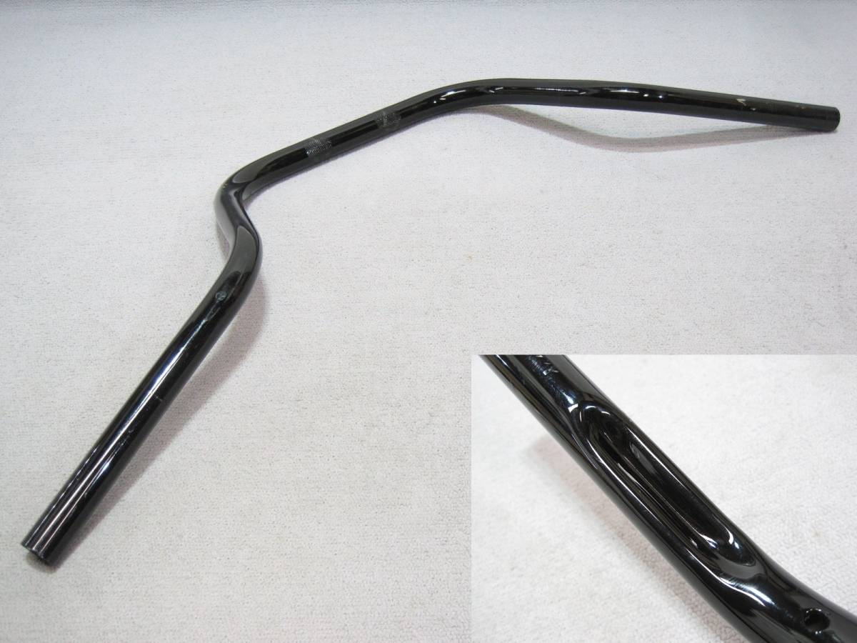 【7932⑨5】 ハーレー・ダビッドソン 1インチ(25.4mm) 社外ナロープルバックバーハンドル (幅)835×(高)150×(奥行)265mm ステンレス_画像3