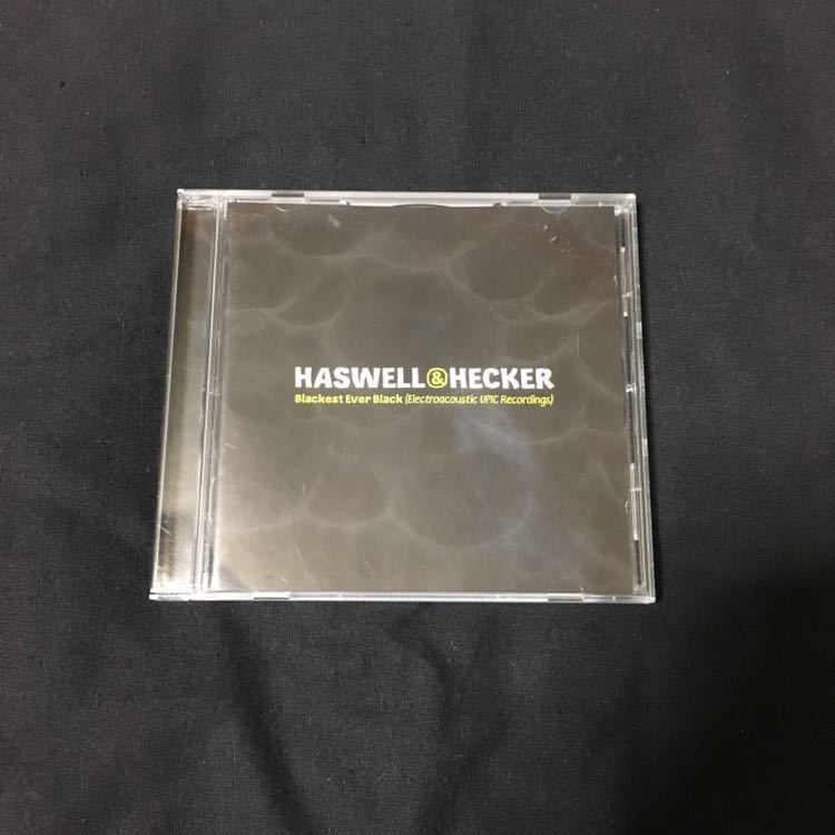Russell Haswell & Hecker『Blackest Ever Black』ノイズ 電子音響 現代音楽 Editions Mego