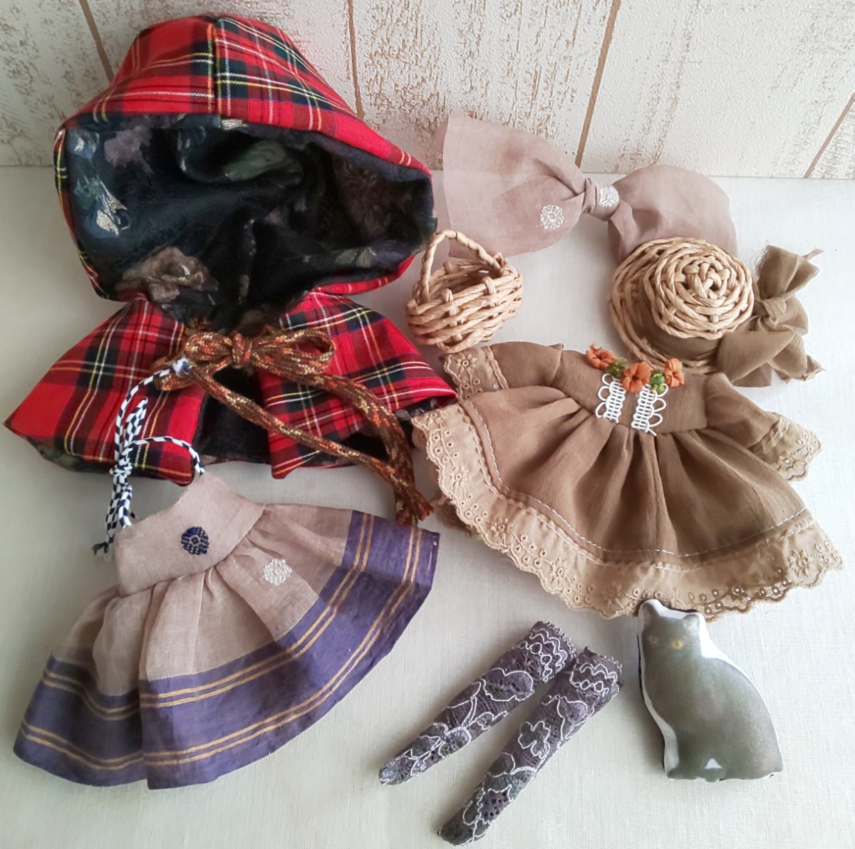 oeuf ☆ネオブライス★頭巾セット_画像3