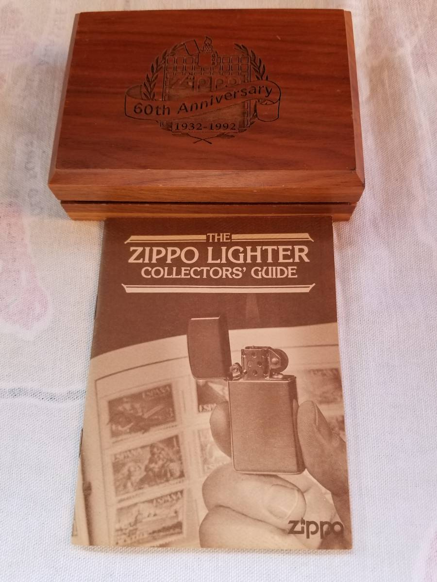 送料は無料です。60thアニバーサリー木製ケース。カタログ早見表。