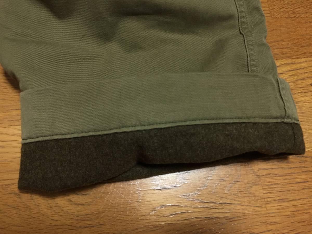 40s ビンテージ ダブルステッチ チノ ライナー付き 実物 アーミー 米軍 40年代 大戦 ARMY 45カーキ パンツ_画像9