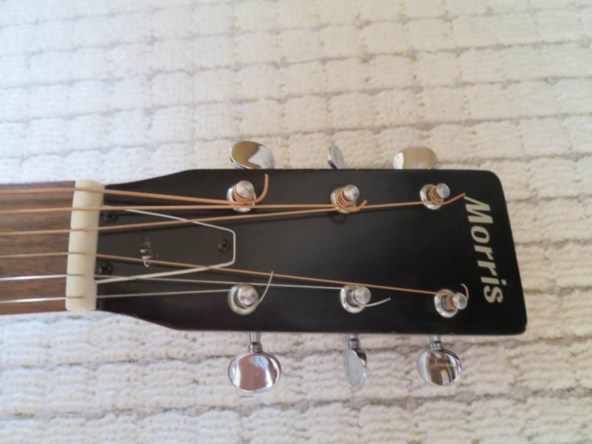 モーリスW-15アコーステックギターです。_画像5