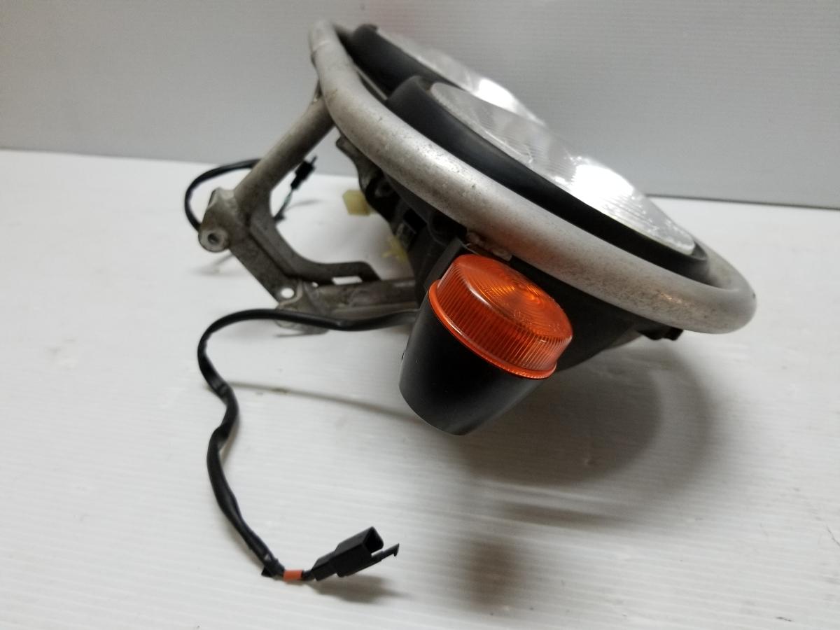 即決 ホンダ XR250 BAJA バハ MD30 ヘッドライト フロントウインカー ステー 4_画像6
