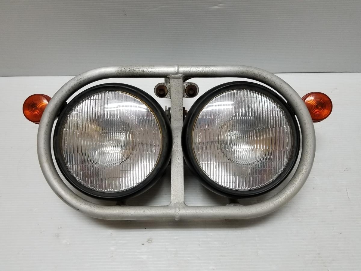 即決 ホンダ XR250 BAJA バハ MD30 ヘッドライト フロントウインカー ステー 4