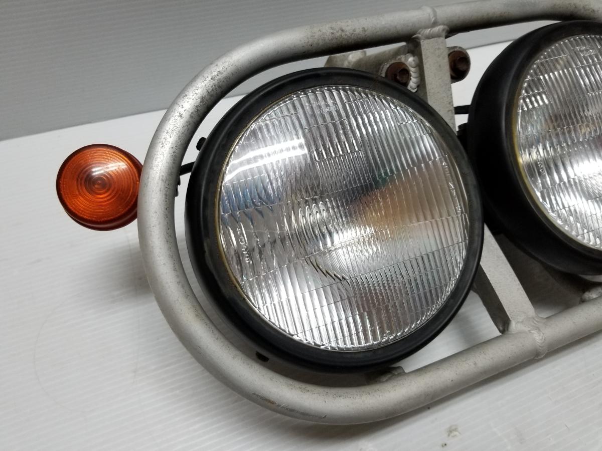 即決 ホンダ XR250 BAJA バハ MD30 ヘッドライト フロントウインカー ステー 4_画像3