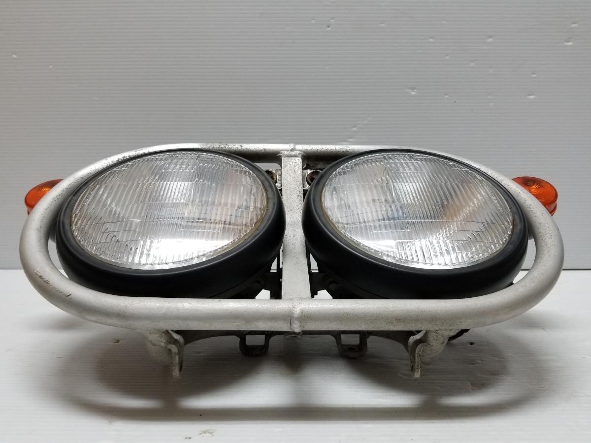即決 ホンダ XR250 BAJA バハ MD30 ヘッドライト フロントウインカー ステー 4_画像4