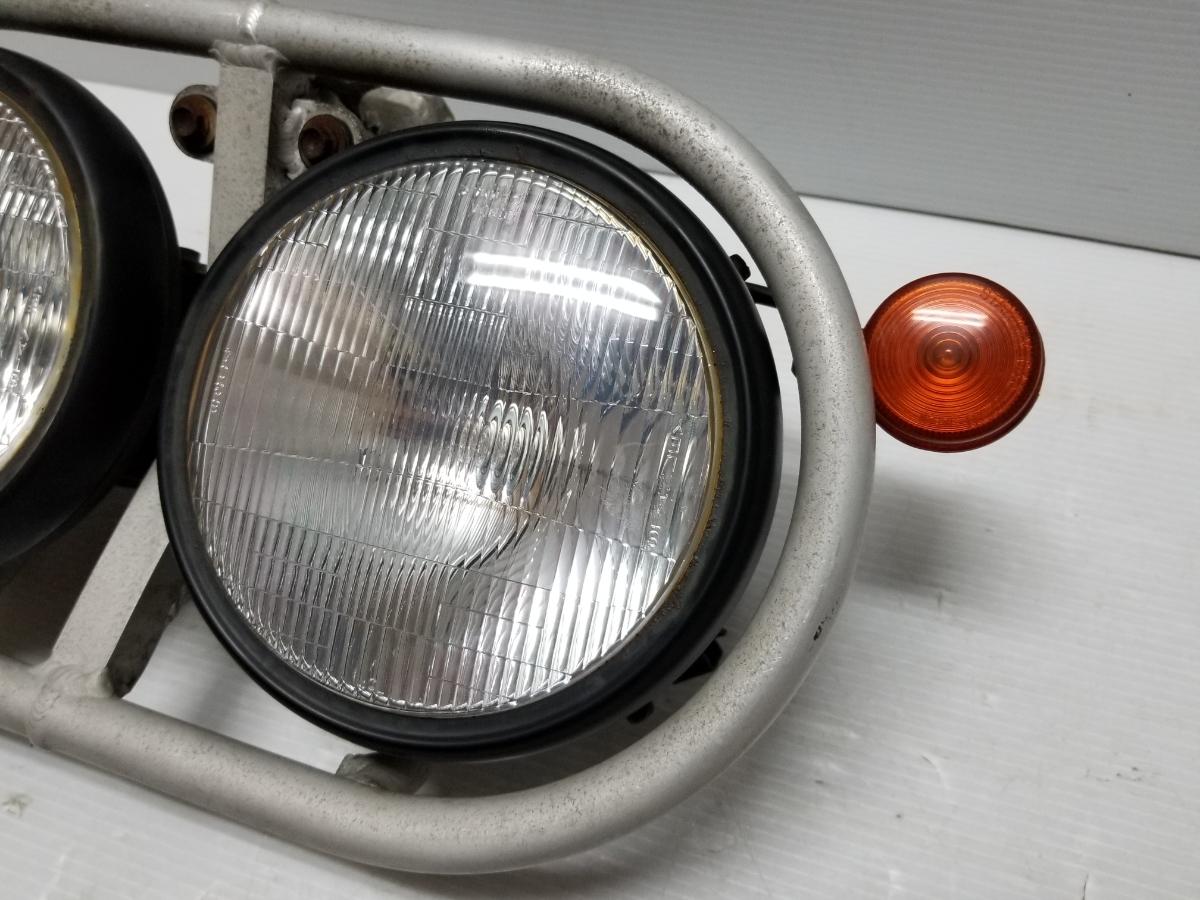即決 ホンダ XR250 BAJA バハ MD30 ヘッドライト フロントウインカー ステー 4_画像2