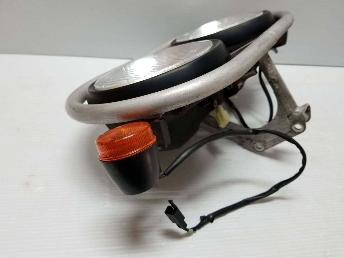 即決 ホンダ XR250 BAJA バハ MD30 ヘッドライト フロントウインカー ステー 4_画像5