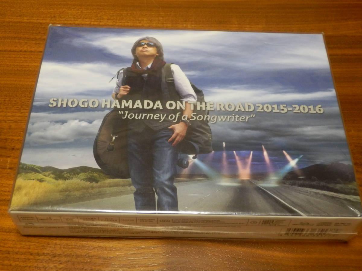 """新品 ◆ 浜田省吾 Blu-ray「SHOGO HAMADA ON THE ROAD 2015-2016 """"Journey of a Songwriter""""」 完全生産限定盤 ブルーレイ+2CD _画像1"""