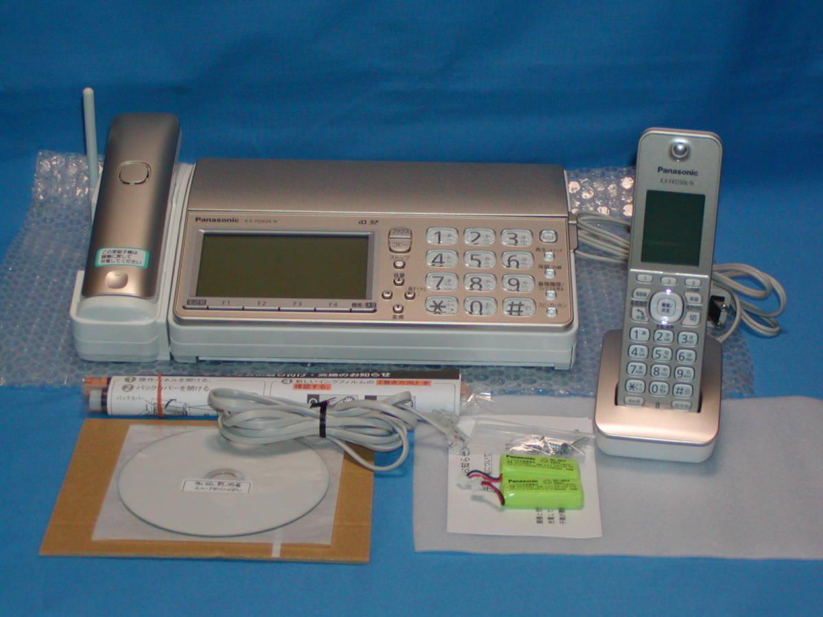 3◆極上品◆Panasonicファクス『KX-PD604DL-N』(※子機1台付)_KX-PD604DL-N(シャンパンゴールド)