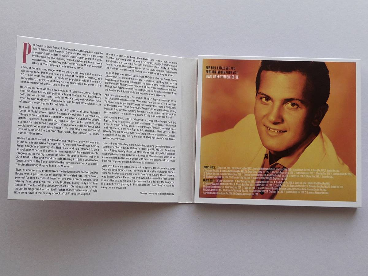 ◎The Very Best Of Pat Boone◎洋盤2CD