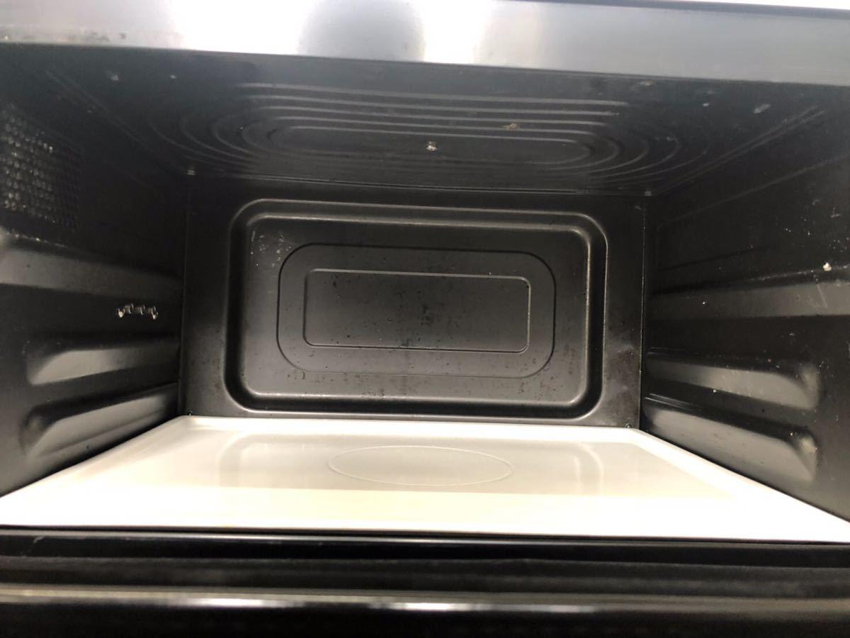 1023-1 2014年製 日立 HITACHI 過熱水蒸気オーブンレンジ MRO-NS8_画像3
