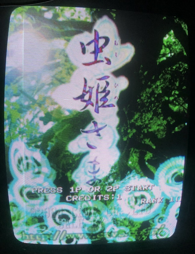 【 CAVE 基板 】  虫姫さま / Mushihimesama  【 付属品アリ 】