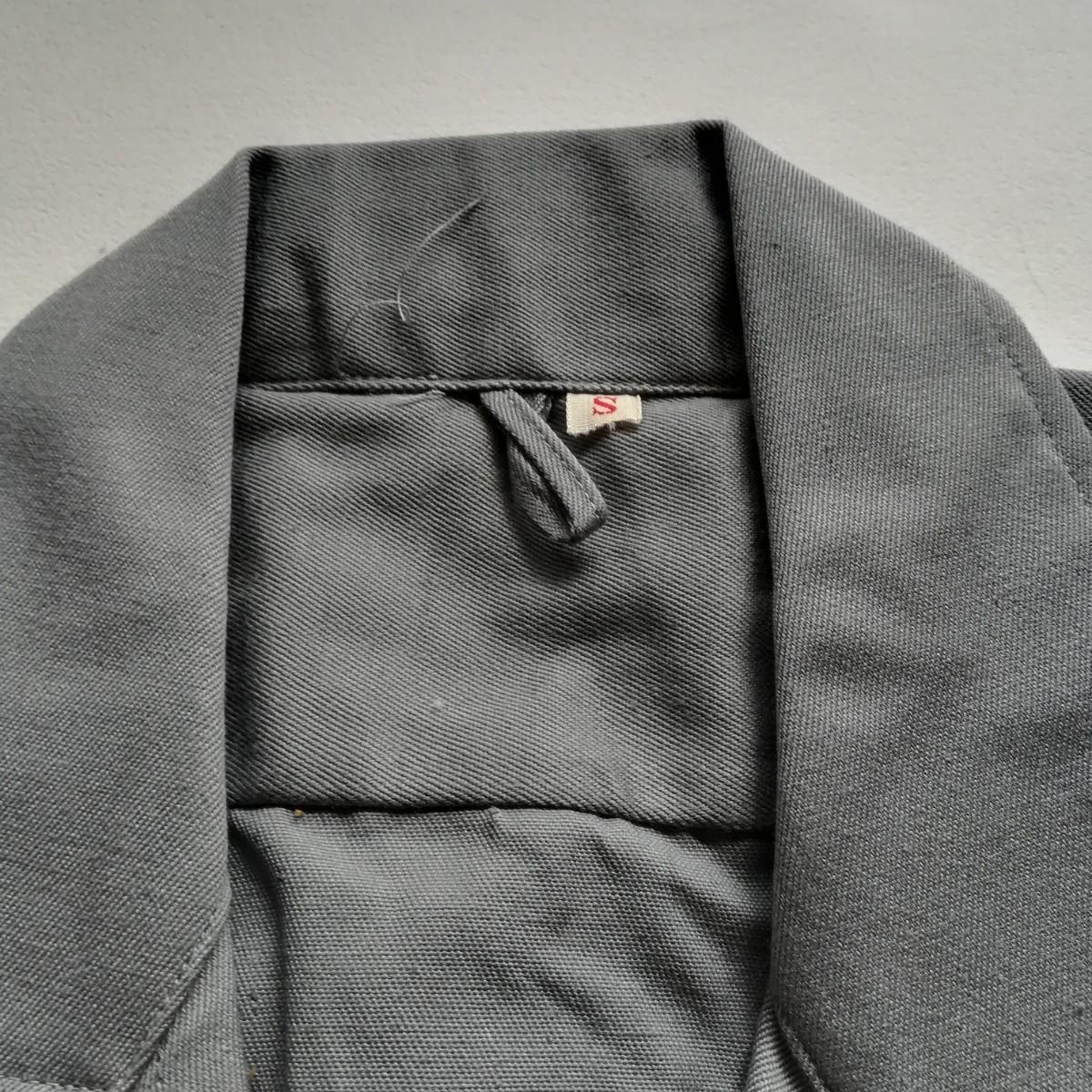 国鉄 制服 半袖 グレー