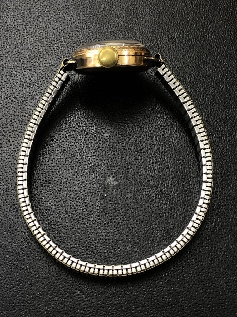 1円~ SEIKO セイコー 腕時計 18K ファッション 小物 レディース おしゃれ アクセサリー 貴金属 アンティーク _画像5