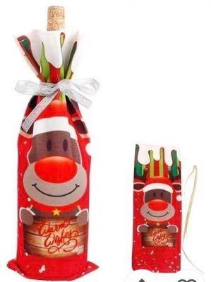 ★クリスマス★ラッピング袋★トナカイ★ワインバッグ★シャンパンやシャンメリーにも★インスタ映えにも★インテリアにも★