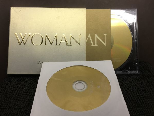 WOMAN it`s just for you 2CD_画像1