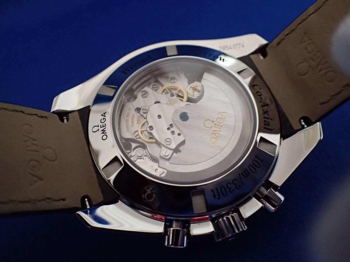 【送料無料】オメガ スピードマスター ブロードアロー 321.13.44.50.01.001 ブラック コーアクシャル メンズ 時計 _画像3